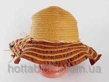 """Шляпа соломенная """"Нэтьюэль"""""""