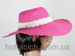 """Шляпа с соломенной лентой """"Рестлин"""""""