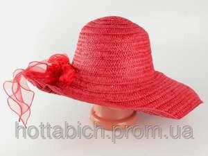 """Шляпа красная большая """"Силько"""""""