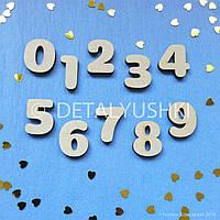 """Заготовка для бизиборда """"Набор цифр 2,5 см"""", Комплектующие для Бизиборда, busyboard, bizi"""