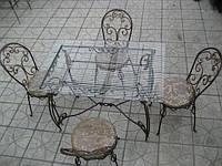 Кованая мебель для баров и ресторанов