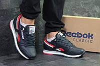Мужские кроссовки Reebok,темно синие с красным, фото 1