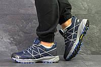 Мужские термо кроссовки The North Face,темно синие, фото 1