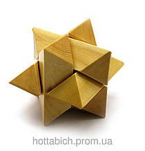 Логическая игра Головоломка деревянная
