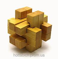 Головоломка логическая деревянная