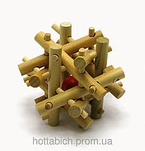 Интересная деревянная Головоломка