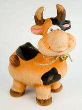 Копилка для детей Корова