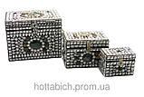 Сундуки металлические с камнями, набор, фото 2
