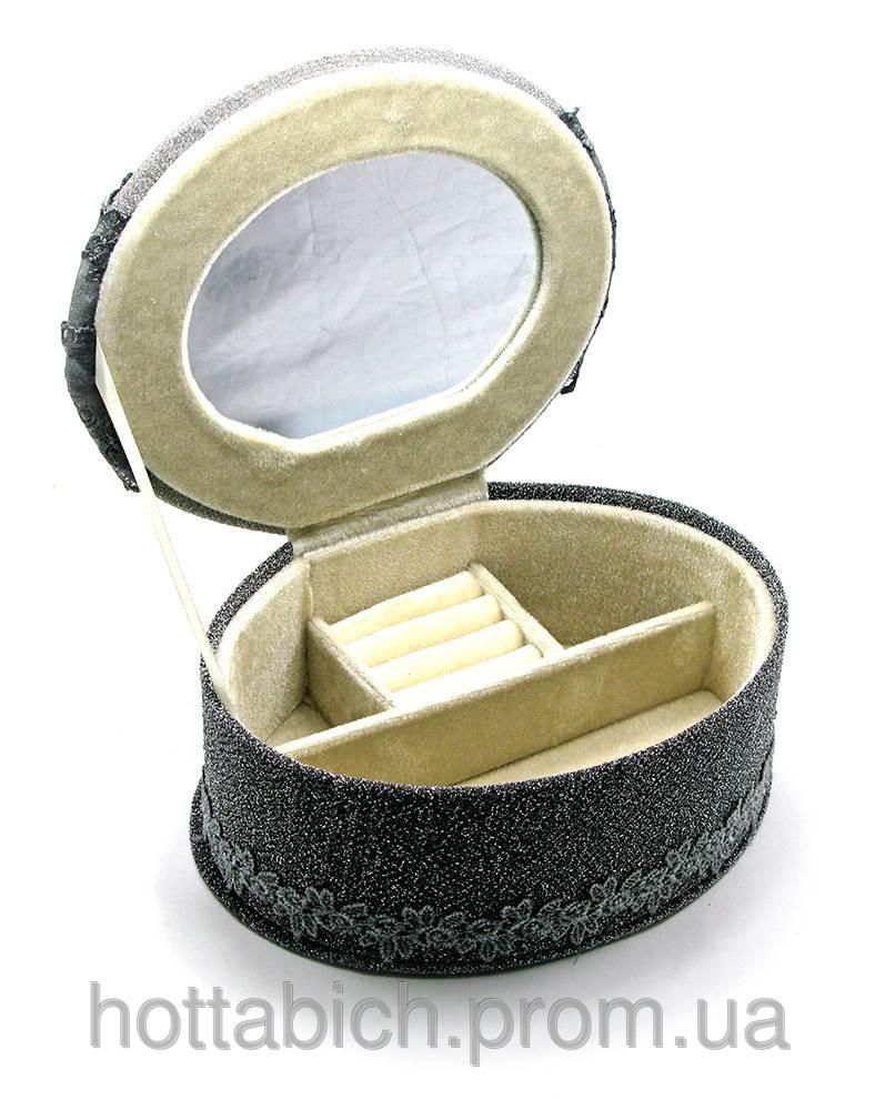 Шкатулка с кружевами для бижутерии