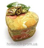 Декоративная шкатулка из ткани, фото 2