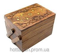 Деревянная шкатулка раздвижная Дерево