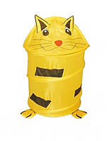 Корзина М 0282 для игрушек (Кот)
