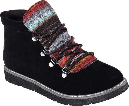 905fbcc52 Женские Ботинки Skechers BOBS Alpine Smores Ankle Boot Black — в ...