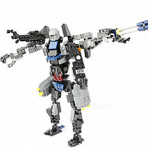 Конструктор трансформер 2 в 1 серии 304 дет. (8712) + Подарок, фото 2