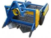 Картофелекопатель навесной двухрядный КТН-2ВМ (на ремнях+ широкие транспортёры)