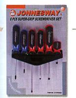 JONNESWAY Наборы инструментов JONNESWAY D13PR06S Набор отверток материал АСERON 6 предметов