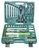 JONNESWAY Наборы инструментов JONNESWAY S04H52460S Универсальный набор 60 предметов
