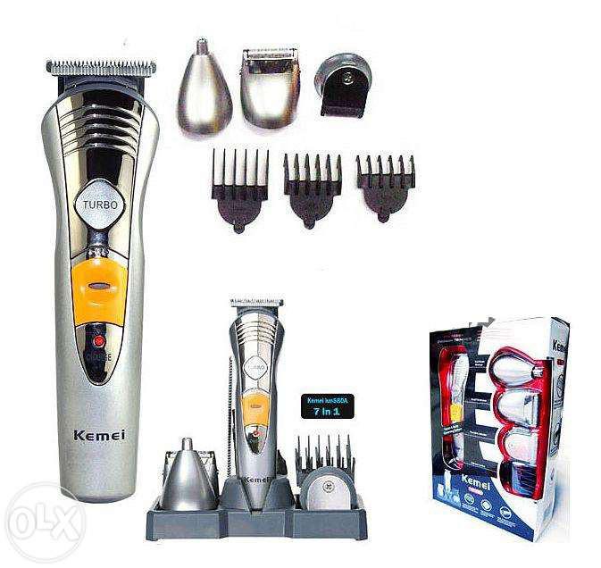 Аккумуляторная машинка для стрижки волос 7 в 1 - Интернет-магазин Планета здоровья в Харькове