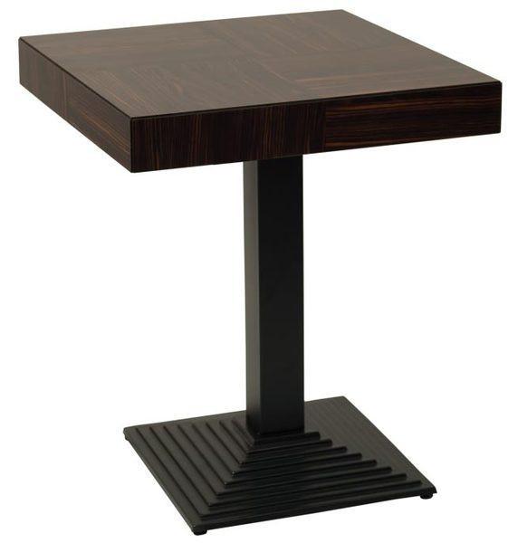 Опора для стола Пирамида Черная (AMF-ТМ)