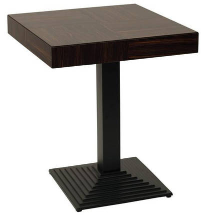 Опора для стола Пирамида Черная (AMF-ТМ), фото 2