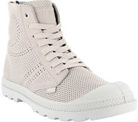 Женские ботинки Palladium Pampa Mid LP Perforated Boot Whisper Pink Leather 4c4269e3f9816