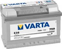 Varta Автомобильные аккумуляторы Varta SILVER dynamic 6СТ-74 574402075 74А/ч