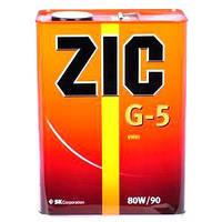 ZIC Трансмиссионное масло ZIC GEAR G-5 80W-90 4л