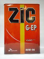 ZIC Трансмиссионное масло ZIC GEAR EP 80W-90 4л