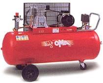 Компрессор поршневой с ременным приводом одноступенчатые CT 3/330/150 (OMA, Италия)