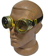 Очки ЗНР-Т стеклянные с металлической оправой защитные закрытые с прямой вентиляцией
