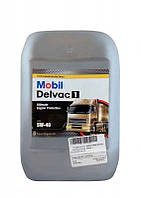 Mobil Моторное масло Mobil Delvac 1 5W-40 20л