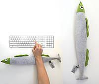 Подушка для рук Рыба оригинальный подарок прикольный