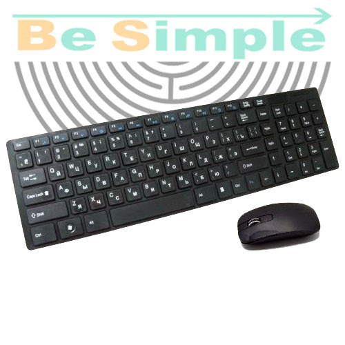 Беспроводная клавиатура + мышь wireless k06