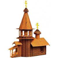 Сборная модель Умная бумага Деревянная церковь серии Архитектурные памятники (39)
