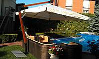 Консольный зонт   для кафе, дома, отеля, 3х4 м