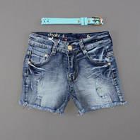 Джинсовые шорты для девочек Nice Wear оптом, 134-164 pp. {есть:134,140,146,152,158}
