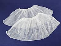 Белые плотные 3 г бахилы 0,60-0,65 грн/пара