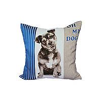 Декоративная подушка  PANCHO синий