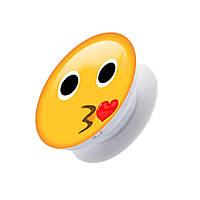 Универсальный держатель PopSocket Smile Kiss