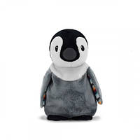 Тёплая игрушка для детей Zazu Пип Пингвин с ароматом лаванды