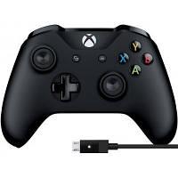 Геймпад Microsoft Xbox One Controller + USB Cable for Windows (4N6-00002)