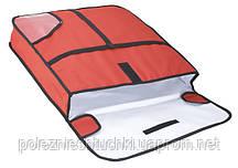 Термосумка для пиццы 61х61х13 см. (для 3 пицц) с боковой загрузкой Winco