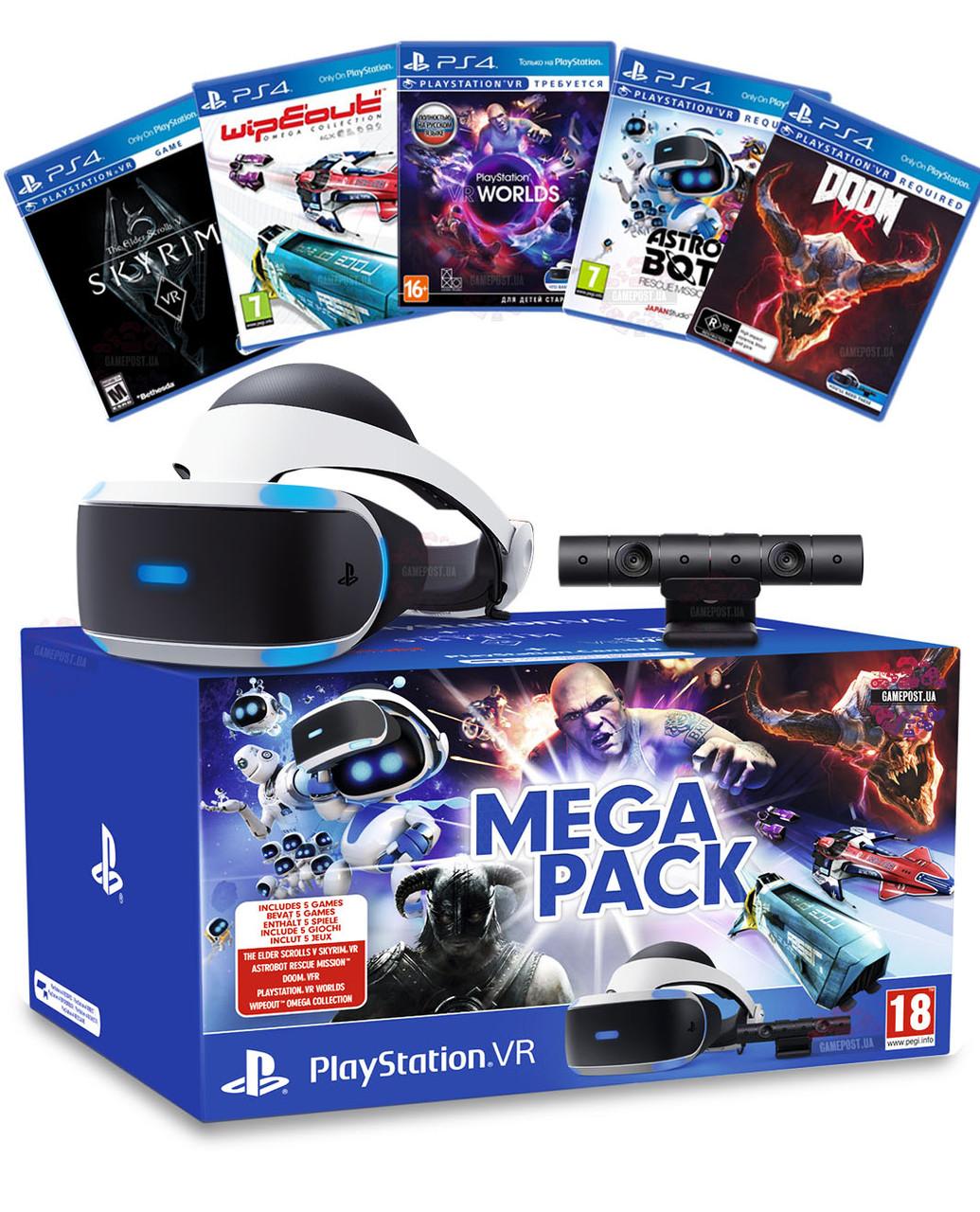 Очки виртуальной реальности для Sony PlayStation Sony PlayStation VR +  PlayStation Camera + 5 игор 4dacd881075bf