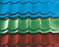 Металлочерепица Монтерей 140 грамм на 1 м.кв, Полимерное, 045, Разные цвета