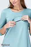 Платье для беременных и кормящих SIMONA DR-19.072, полынное, фото 3