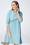 Платье для беременных и кормящих SIMONA DR-19.072, полынное, фото 6