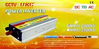CCTV / UKC - Инвертор напряжения автомобильный, KHM-2000, 12/220, 2000W