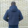 Куртки мужские под резинку больших размеров осень весна, фото 2