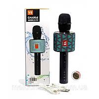 Беспроводной караоке микрофон CHARGE V8 камуфляж