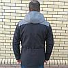 Модная мужская куртка парка осень весна, фото 9